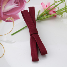 Cute Girls Bow Hair Accessories Sweet Bowknot Hairpins Hair Clip For Women Solid Barrettes Cloth Rosette Hairgrip Femme Ornament(China)