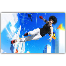 Mirror's Edge Catalyst Silk Fabric Canvas Poster Print 15x24 20x32 22x36 inch Video Game Class Home Decor Wallpaper YX755(China)