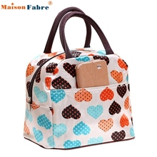 2017 Luxury Brands Portable Insulated Picnic Lunch Bag Tote Zipper Organizer LunchBox