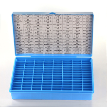 p083 key storage box  blank key plastic box  have 112 Spaces locksmith supplies