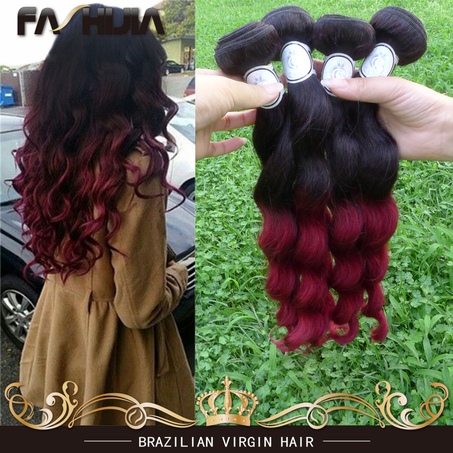 New Brazillian Loose Wave Peerless Virgin Hair 7a Unprocessed Virgin Hair 1b Burgundy Human Virgin Brazilian Loose Wave 4pcs Lot<br><br>Aliexpress