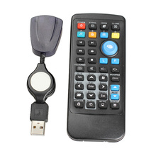 18m Wireless USB Computer Remote Controller PC Media Center Controller forWMP, Realplay, KMPlayer, TTplay, WinDVD, PowerDVD(China)