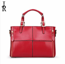 Europe and the United States 2016 new winter fashion leather handbag wholesale fashion leather handbag stitching shoulder bag