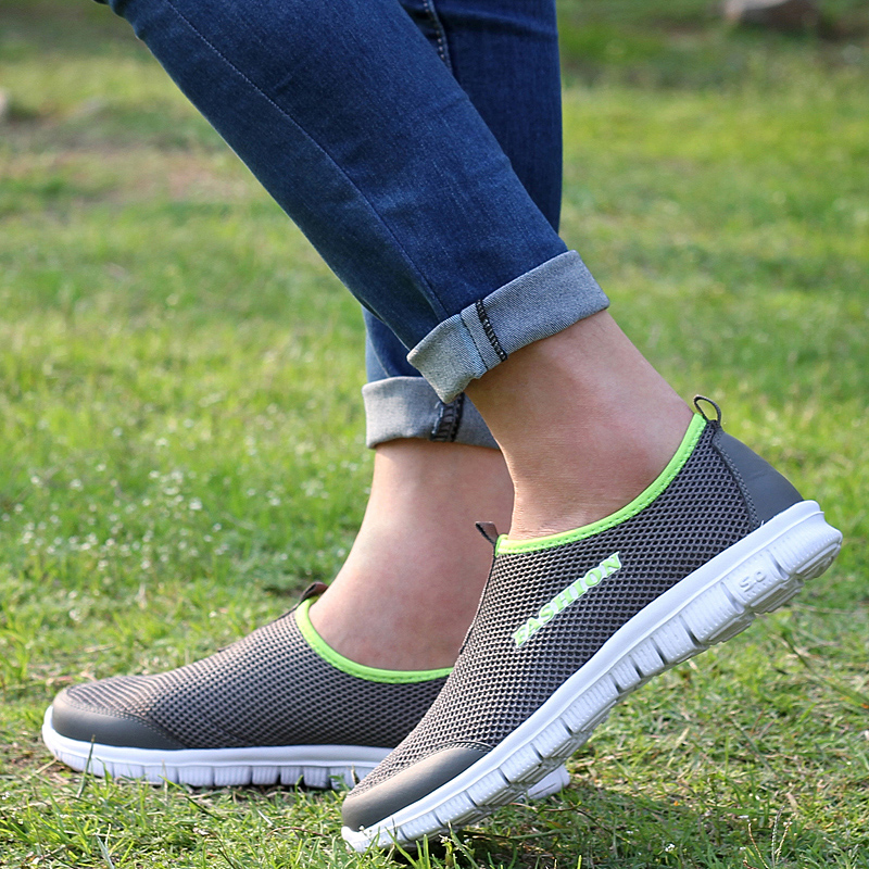 High Quality Summer Mesh Shoes Women Casual Shoes Women Zapatillas Mujer Trainers Breathable Women Flat Shoes<br><br>Aliexpress