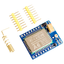 mini A6 GPRS GSM Module Kit Wireless Extension Module Board Antenna Tested Worldwide Store for SIM800L