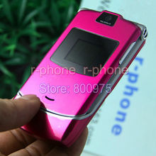 Original Motorola Razr V3 Mobile Phone Unlocked English Arabic Russian Keyboard