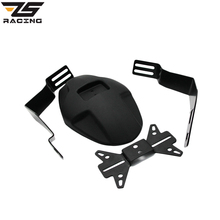ZS-Racing 3 Colors CNC Aluminum Motorcycle Rear Fender Bracket Motorbike Mudguard Case For HONDA GROM MSX125 M3 Easy To Install