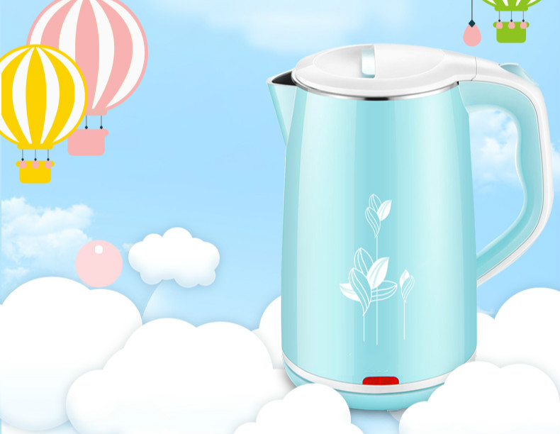 Electric kettle food grade 304 stainless steel anti-ironing household boiler automatic power Safety Auto-Off Function<br>