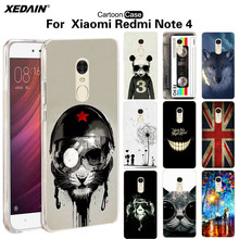GBOZE Redmi Note 4 fundas smartphone xiomi xiami xaomi hongmi note4 Soft TPU Case For xiaomi Redmi note4 Cases cover Cellphone(China)