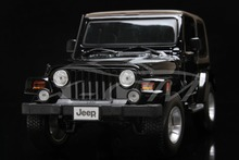 Diecast Car Model Maisto Jeep Wrangler 1:18 (Black/Grey) + SMALL GIFT!!!!!!!!!