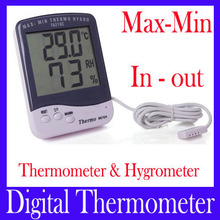 humidity and temperature gauge outdoor max min thermometer with hygrometer thermo hygro digital temperature humidity sensor
