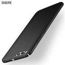SIXEVE For Xiaomi 6 mi 6 Plus Case Mobile Phone Cases Cover Ultra thin Casing PC Plastic Matte Hard Back Cover Xiomi 6 mi6 case(China)