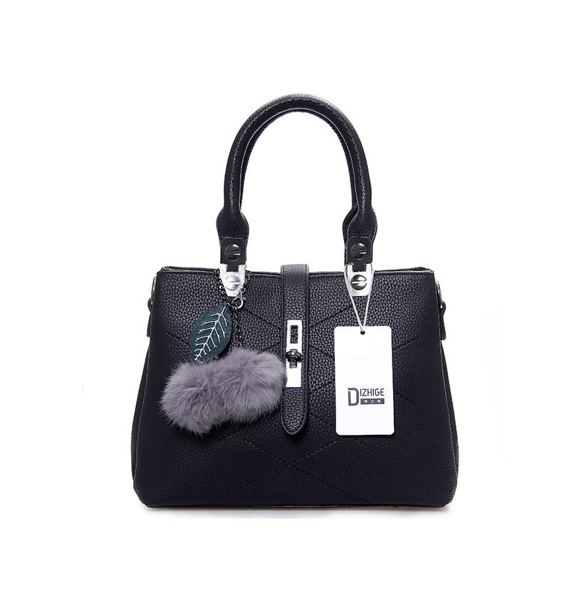 DIZHIGE Brand Fashion Fur Women Bag Handbags Women Famous Designer Women Leather Handbags Luxury Ladies Hand Bags Shoulder Sac 8