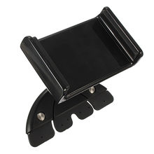 Brand New 7 Inches Universal Adjustable 88~136mm Car CD Slot Mobile Mount Holder Stand For ipad mini For Samsung Tablet Holder