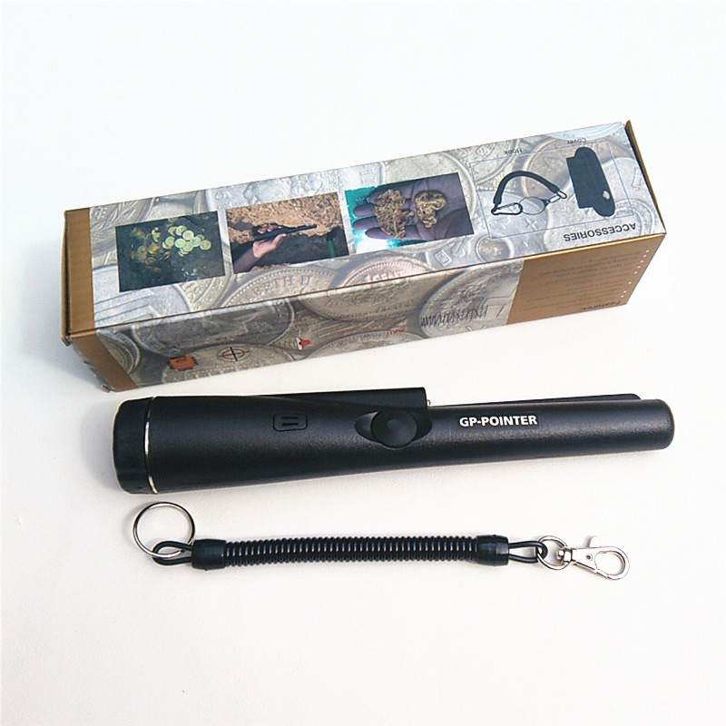 Free Shipping Handheld metal detector Waterproof Gold Detector Pinpointer Metal Detector With Sheath<br>