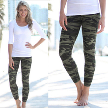 2017 Hot Camouflage Women Yoga Pants Dry Fit Sport Pants Fitness Gym Pants Workout Running Tight Sport Leggings Female Trousers