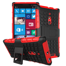Top Quality Rugged Kickstand Armor Case for Nokia Lumia 830 N830 Hard Shock Proof Case With Stand Phone Accessory Funda