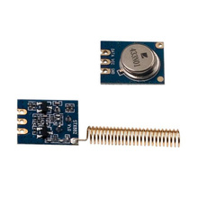 10sets   Wireless AKS RF Module SRX882 RX & STX882 TX & SW433-TH32DN Nickel Antenna 433MHz /315MHZ RF Transmitter and Receiver