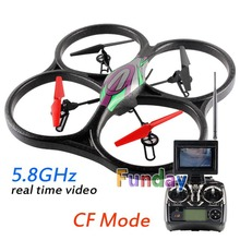 53cm Big FPV WLtoys V666 RC Quadcopter wtih Camera HD 2.0M CF Mode Remote Control Helicopter Drone 5.8GHz Real Time Transmission