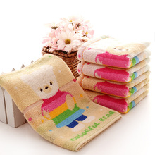 New Two Piece 50*25cm 100% Cotton Child Cartoon Towel Washcloth Home Textiles Water absorption Simple Shower Sports Hotel towels