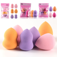 MAANGE 4/6Pcs Professional Beauty Flawless Makeup Blender Foundation Puff Multi Shape Sponges Cosmetic Tools Kit Freeshipping