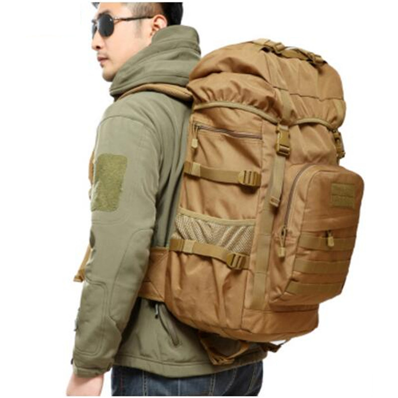 50L men women bag backpack computer bag disguise Large capacity Fashion man bag  nylon wear-resisting leisure bag luxury<br>