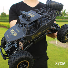 37CM 1/12 4WD Big RC Cars 2.4G High Speed Off-Road Trucks Upgraded Buggy Vehicle Toys Children Kids Boys Birthday Christmas Gift(China)