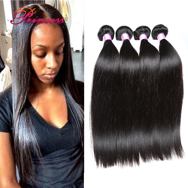 4 Bundles Brazilian Straight Virgin Hair Mink Brazilian Straight Hair Grade 8a Unprocessed Virgin Brazilian Hair Weave Bundles<br><br>Aliexpress