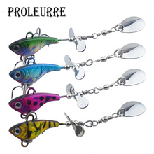 Buy 1Pcs Metal Hard Fishing Jig Head Wobbler Fishing Lures 18g Spinner spoon Baits Propeller Fishing Tackle Pesca Isca for $1.49 in AliExpress store