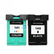 2Pcs Ink Cartridge for HP 140 141 xl for HP Photosmart C4583 C4283 C4483 C5283 D5363 Deskjet D4263 D4363 C4480 printer