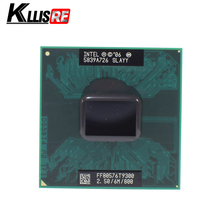 Intel Core 2 Duo T9300 2.5 GHz 6M 800MHz Processor Socket P SLAYY SLAQG CPU(China)