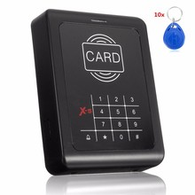 RFID Entry Door Lock ID Card Access Control System Home Office Security +10 Keys Use For Any Need To Access Control Channel(China)