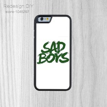 Latest Design Sad Boys Printted Snap On Cover Case  For iPhone 6 6s And 4 4s 5 5s 5c 6 Plus phone cases