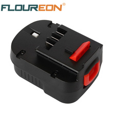 FLOUREON FS120B 12V 3000mAh Rechargeable Battery Pack for Black & Decker Drill A12 A12EX FSB12 A1712 HP12K HP12KD Ni-MH Bateria
