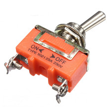 1Pc 2-Pin SPST ON-OFF Mini 15A 250V Miniature Toggle Switches EP98 Hot Sale(China)