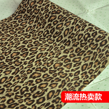new for baby room self-adhesive renovated wallpaper wall stickers post-it note DIY home decoration leopard print PVC waterproof(China)