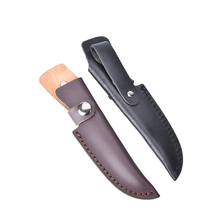 High quality knife sheath 18.5cm Leather sheath with waist belt buckle professional gift pocket Multi-function tool