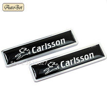 Car Decoration Decal Side Door Sticker Mercedes Benz CARLSSON Logo W204 W203 W211 W210 W212 W205 Cla Gla Glc Glk W124 W163