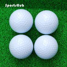 SPORTSHUB 10PCS/Lot Exquisite Design and Durable Bee Cave Practice Balls Golf Ball for Golf Game CS0009(China)