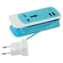 110V-240V USB Universal Travel AC Power Adapter Adaptor Plug 2 Usb Charger AC/DC USB Charger EU Plug