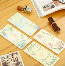 Romantic Flowers Tear Mini Notebook Check list Daily Memo Pad Message Note Work Schedule Planner Desktop Scratch Pad Memos Book
