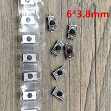 30pcs/lot Touch Swicth for Car Key For Citroen Peugeot Opel Tactile Switch Push Button Size 6*3.8mm