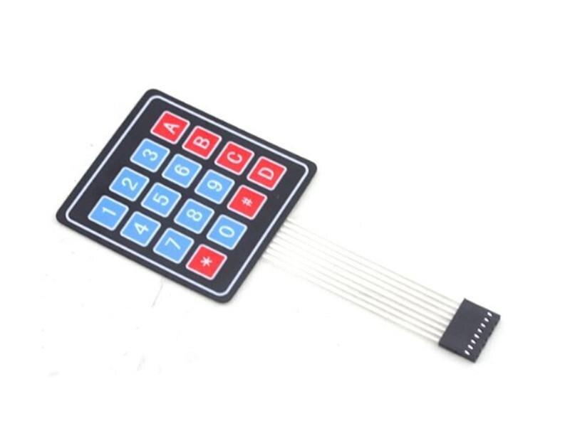 New Consumer Electronics Membrane Switch Keypad Keyboard for Arduino  4 x 4 Matrix Array 16 Key