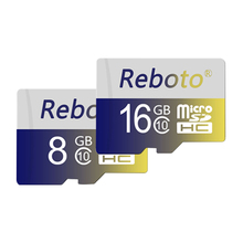 Reboto Memory card 32GB class 10 micro sd card 16GB 64GB MicroSD Card 4GB 8GB TF flash USB Card for mobile phone
