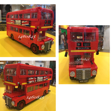 21045 1716Pcs Genuine Technic Series The London Bus Set Building Blocks Bricks Children Educational Toys Model Gifts 10258