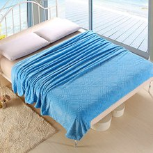 Drop Shipping Home Supplies Bedspread Office Blanket Multifunctional Travel Blanket Cover Blankets for Bed 6 Colors