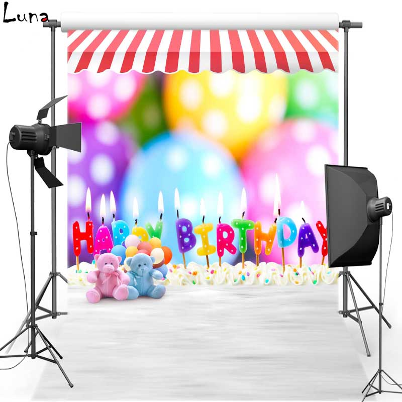 Birthday Party Vinyl cloth Photography Background Balloon Oxford Backdrops backgrounds For Children Photo Studio S1768<br><br>Aliexpress