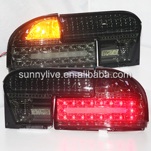 1992-2009 Year  For PROTON Wira LED Tail lamp  Rear lights Smoke Black color  YZ type