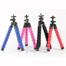 Hot Sale 1pc Camera Phone Holder Flexible Octopus Tripod Bracket Stand Mount Monopod Styling Accessories For Mobile Phone Camera