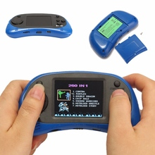 2.5 inch Color Display 260 in 1 Portable Handheld Game Players Retro Game Console Gift Toy Handheld Console